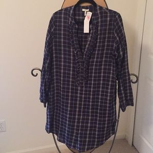 Joie blouse or can be worn as dress